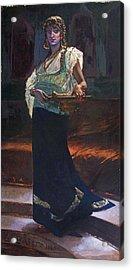 Exotic Woman Acrylic Print