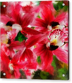 Exotically Pink Acrylic Print