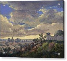 Expecting Rain Acrylic Print by Jane Thorpe