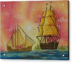Exploration Acrylic Print