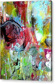 Acrylic Print featuring the painting Exploration by Katie Black