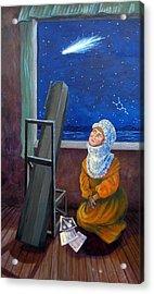 Explorer Of Stars - Caroline Herschel Acrylic Print