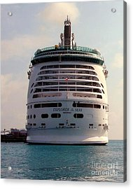 Explorer Of The Seas Acrylic Print