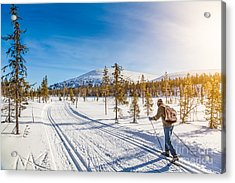 Exploring Scandinavia Acrylic Print by JR Photography