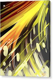Explosion 1 Acrylic Print by Jennifer Hotai