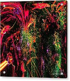 Explosion Of Desire Acrylic Print by Ashantaey Sunny-Fay