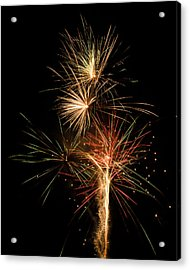 Explosion Acrylic Print by Shirley Tinkham