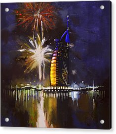 Expo Celebrations Acrylic Print by Corporate Art Task Force