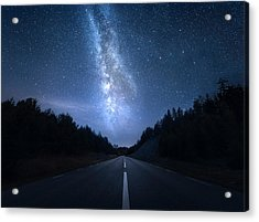 Extraterrestrial Acrylic Print by Christian Lindsten