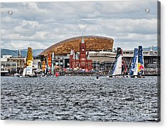Extreme 40 At Cardiff Bay Acrylic Print