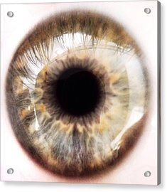 Extreme Close-up Of Human Eye Acrylic Print by David Crunelle / Eyeem