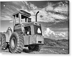 Extreme Equipment Acrylic Print by Tom Druin
