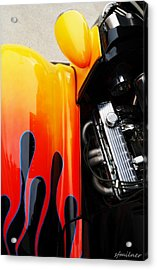 Extreme Muscle Acrylic Print by Steven Milner