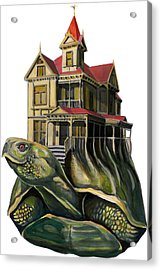 Extreme Victurtle Acrylic Print