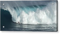 Extreme Ways Of Living Acrylic Print by Bob Christopher