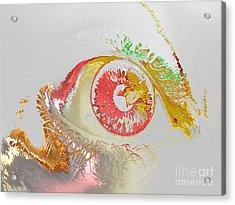 Eye 2 Acrylic Print by Soumya Bouchachi