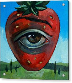 Eye Berry Acrylic Print by Filip Mihail