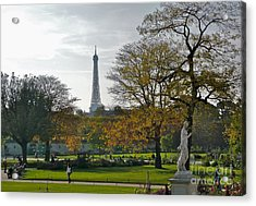 Eye Full In Jardin De Tuileries Acrylic Print