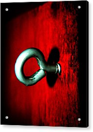 Acrylic Print featuring the photograph Eye Hook by Ester  Rogers