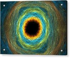 Eye Iris Acrylic Print