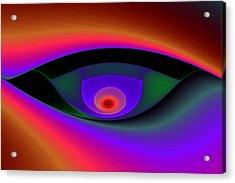 Eye Of A Stranger No. 2 Acrylic Print by Mark Eggleston