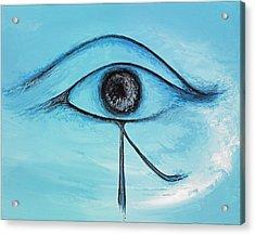 Eye Of Horus In The Sky Acrylic Print