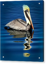 Eye Of Reflection Acrylic Print