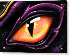 Eye Of Sun Aura Acrylic Print by Elaina  Wagner