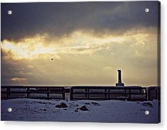 Eye Of The Beholder Acrylic Print by Dawdy Imagery