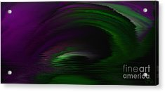 Eye Of The Storm Acrylic Print by Patricia Kay