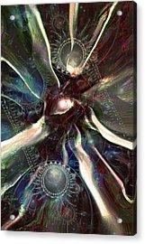 Eye Of The Universe Acrylic Print by Linda Sannuti