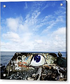 Eye On The Strait Acrylic Print