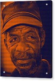 Eye Talk Acrylic Print