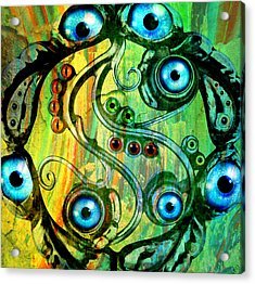 Eye Understand Acrylic Print by Ally  White