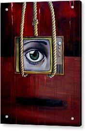 Eye Witness Acrylic Print by Leah Saulnier The Painting Maniac