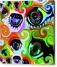 Eyecandy Acrylic Print by Gwyn Newcombe