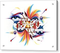 Eyecolor Acrylic Print