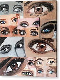 Eyes Have It Acrylic Print