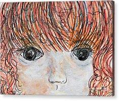 Eyes Of Innocence Acrylic Print by Eloise Schneider