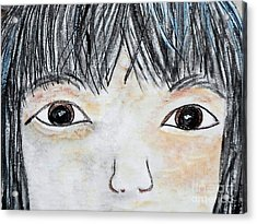 Eyes Of Love Acrylic Print by Eloise Schneider