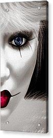 Eyes Of The Fool Acrylic Print by Bob Orsillo