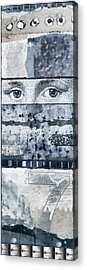 Eyes On Seven Acrylic Print by Carol Leigh
