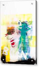 Eyes Wide Shut Acrylic Print