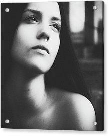 Eyes Wide Shut Acrylic Print by Mirjana Kova??evi??