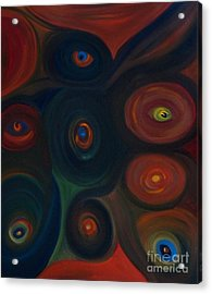 Eyes Acrylic Print
