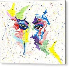 Eyez Acrylic Print by Rishanna Finney