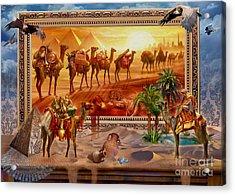 Eygptian Scene Acrylic Print