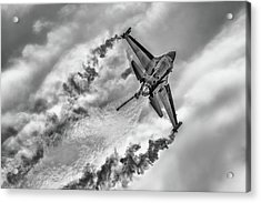 F-16 Solo Turk... Acrylic Print by Rafa? Czernia