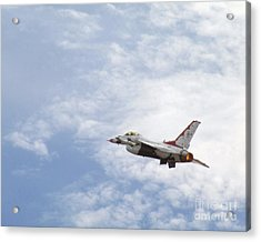 F-16 Thunder Acrylic Print