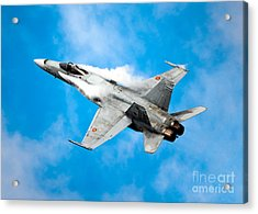 F-18 Fighter Acrylic Print